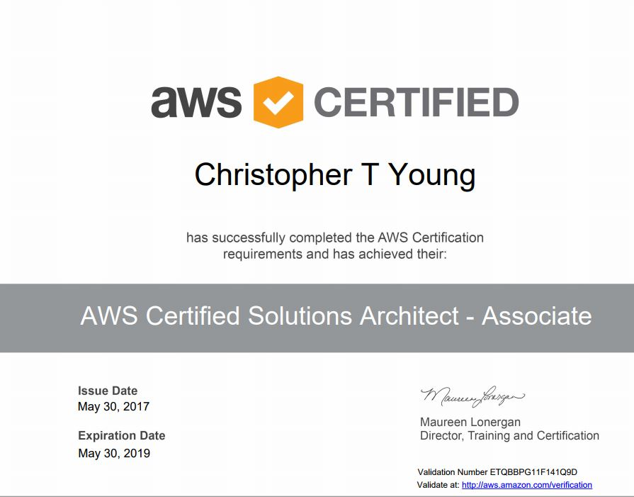 AWS Certified Solutions Architect Study Prep – Cloudy Thoughts